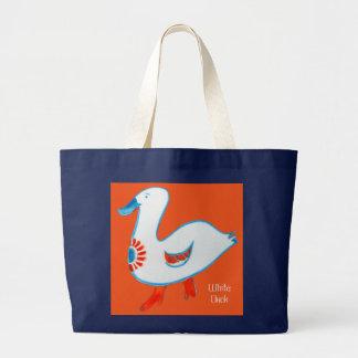 """Jumbo Tote """"White Duck"""" Jumbo Tote Bag"""