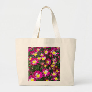 Jumbo tote with floral design tote bags