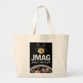 Jumbo Tote with the black OJMAG logo Bags