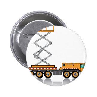 Jumbo Truck lift 6 Cm Round Badge