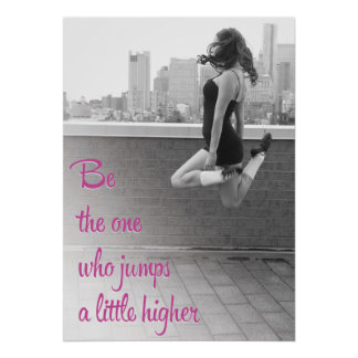 Jump a Little Higher Ceili Moore Irish Dance Poster
