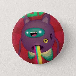 Jump around 6 cm round badge