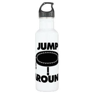 Jump Around Trampoline 710 Ml Water Bottle