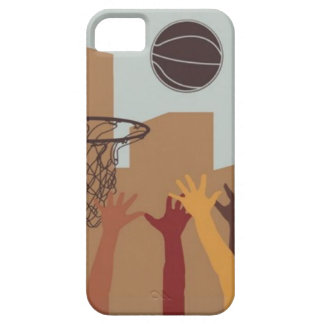 Jump Ball (Basketball) - iPhone 5 Case