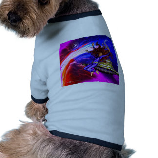 jump in space pet shirt
