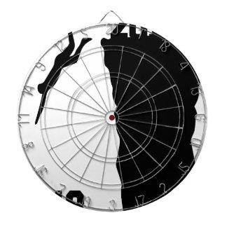 Jump to new year dartboard