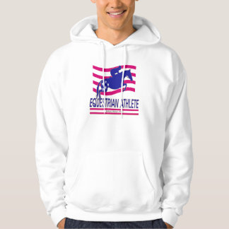 Jumper Equestrian Athlete Hooded Sweatshirt