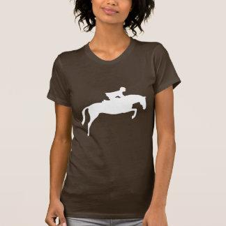 Jumper Horse Silhouette (white) T-Shirt