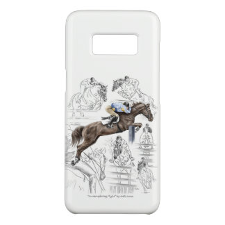 Jumper Horses Fences Montage Case-Mate Samsung Galaxy S8 Case