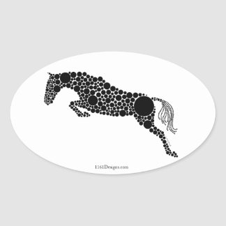 Jumper Silhouette Stickers