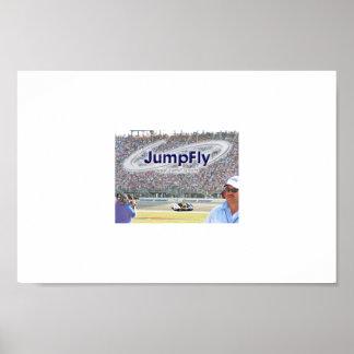 JumpFly NASCAR Poster