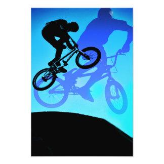Jumpin Jimmini BMX print Photographic Print