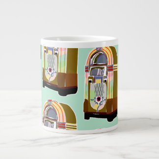 Jumpin Jukeboxes Large Coffee Mug