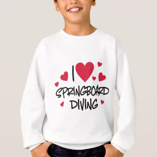 Jumping board Diving Sweatshirt