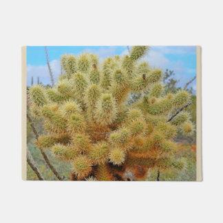 Jumping Cactus Door Mat