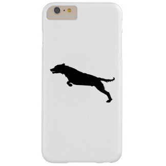 Jumping Dog Silhouette Barely There iPhone 6 Plus Case