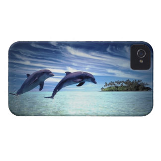 Jumping Dolphins iPhone 4 Cases