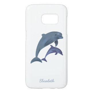 Jumping dolphins illustration name