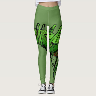 Jumping Grasshopper! Leggings
