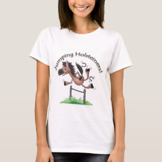Jumping Holsteiners! T-Shirt