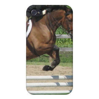Jumping Horse iPhone 4  Case Case For The iPhone 4