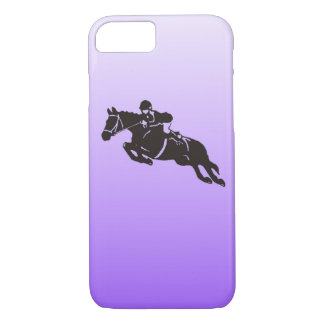 Jumping horse phone case