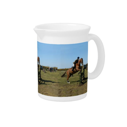 Jumping Horse Pitcher