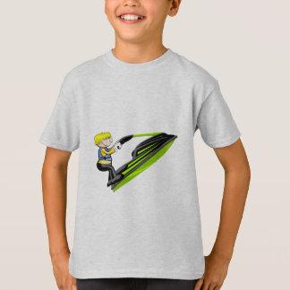 Jumping in Jet Ski T-Shirt