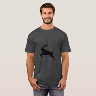 Jumping kudu silhouette T-Shirt