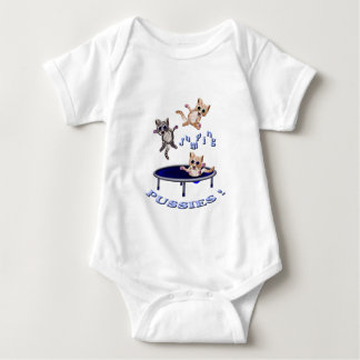jumping pussies baby bodysuit
