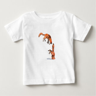 Jumping Red Fox Baby T-Shirt