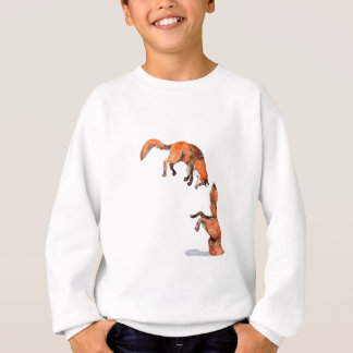 Jumping Red Fox Sweatshirt