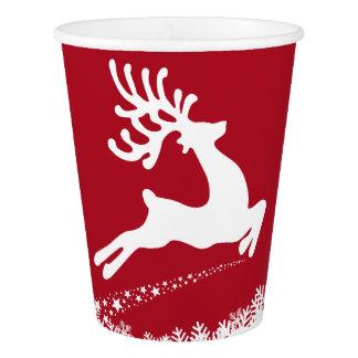 Jumping Reindeer paper cups