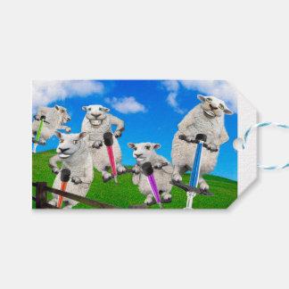 Jumping Sheep Gift Tags