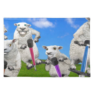 Jumping Sheep Placemat