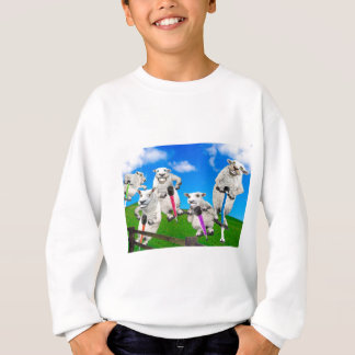 Jumping Sheep Sweatshirt