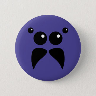 Jumping Spider Face Button