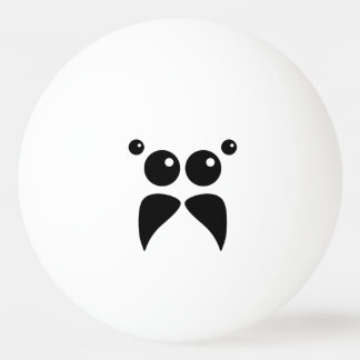 Jumping Spider Face Ping Pong Ball