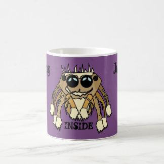 Jumping Spider Jumping Inside Mug