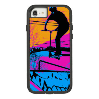 Jumping the Ramp - Scooter Champ Case-Mate Tough Extreme iPhone 8/7 Case