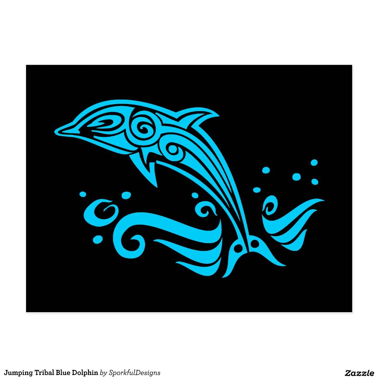 Эскизы дельфинов для тату
