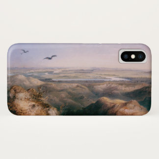 Junction of the Yellowstone and Missouri by Bodmer iPhone X Case