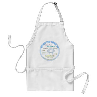 June 30th Birthday - Cancer Apron