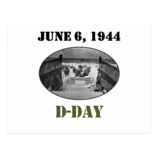 June 6, 1944: D-Day Postcard