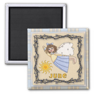 June Angel / Fairy Month Magnet