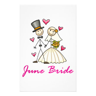 June Bride Stationery Paper