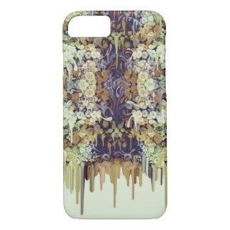 June Bug, melting florals iPhone 7 Case