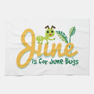 June Bug Tea Towel