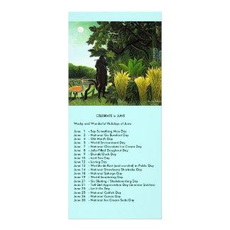 June events custom rack cards