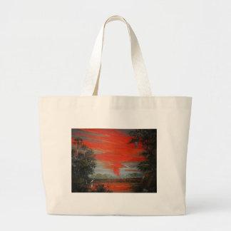 June FireSky Large Tote Bag